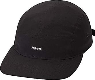 Hurley Womens One and Only Ripstop Baseball Cap, Black Qty