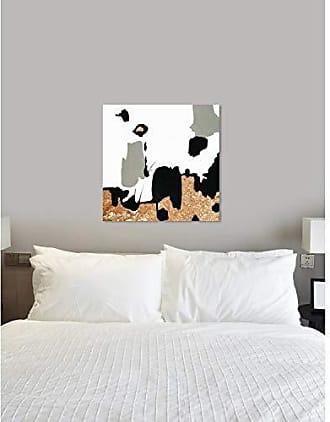 The Oliver Gal Artist Co. The Oliver Gal Artist Co. Abstract Wall Art Canvas Prints Ciudadela Home Décor, 36 x 36, White, Gold