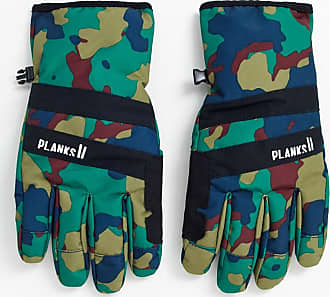 Planks Peacemaker Insulated glove in camo-Green