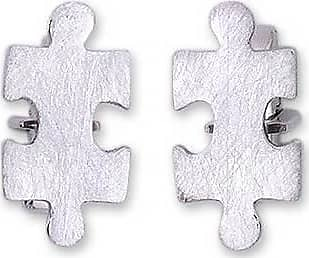 Novica Silver cufflinks, Puzzle