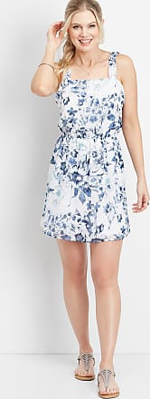 Maurices Floral Ruffle Strap Dress