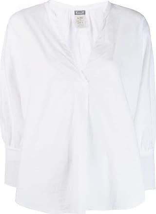 Kristensen Du Nord long-sleeve flared blouse - Branco