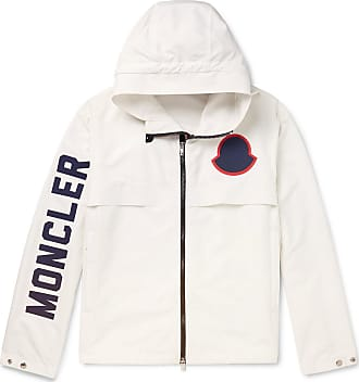 Moncler Montreal Printed Shell Hooded Jacket - White 5c2ad2c83da81