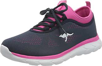 Kangaroos Womens KN-Run Neo Sneaker, Dk Navy/Daisy Pink, 4.5 UK