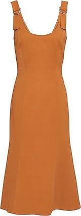A.L.C. A.l.c. Woman Sander Crepe Mini Dress Camel Size 10