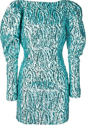 16Arlington Vestido com paetês - Azul