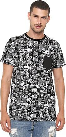 Billabong Camiseta Billabong Noise Branca Preta 82ae9af7e5d