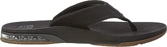 Reef Mens Fanning Low Flip Flops, Black (Black Bla), 47 EU, 13 UK