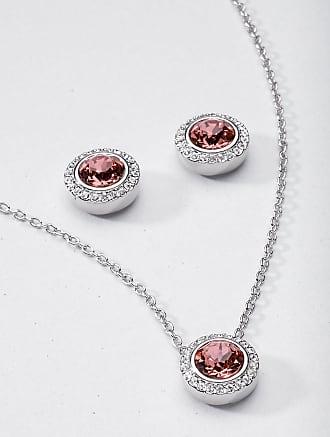 Peter Hahn Stud earrings sparkling crystals mayfair by Peter Hahn silver