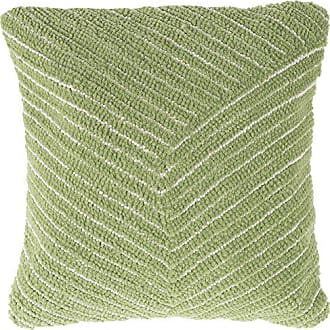 Trademark Lavish Home 66-09-LG Modern Throw Pillow, Leaf Green