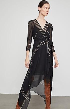 BCBGeneration Samantha Wrap-Front Handkerchief Dress