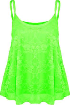 UK Women Tank Vest Camisole Cami Tops Ladies Swing Frills Blouse Shirt Plus Size