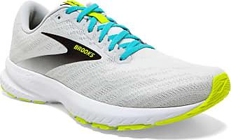 Brooks Mens Launch 7 Running Shoe, White (White/Nightlife/Capri), 13 UK (48.5 EU)
