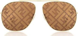 Fendi FF Family aviator sunglasses