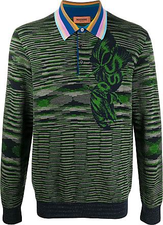 Missoni Suéter polo com padronagem floral - Verde