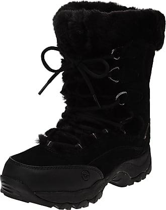Hi-Tec St. Moritz 200 Wp Ii, Womens Biker Boots, Black (Black/Clover), 5 UK (38 EU)