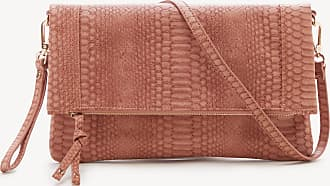 Sole Society Womens Marlena Clutch Vegan Foldover Clutch Coral Vegan Leather From Sole Society
