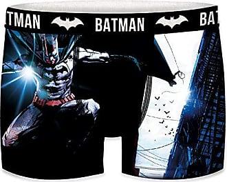 XL para Hombre 8/% Elastano de DC COMICS-microfibra-92/% poli/éster FREEGUN T423-1-X Boxer unitario Batman Multicolor
