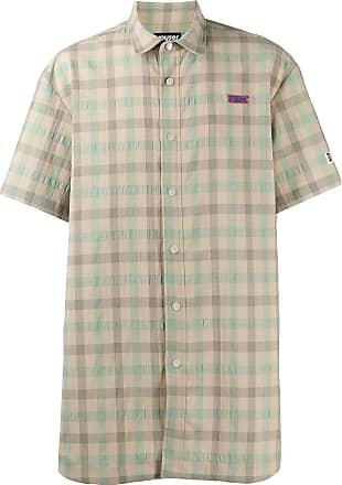 Youser Camisa oversized xadrez - Verde
