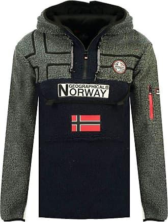 Geographical Norway Mens Riakolo Fleece - Blue - L