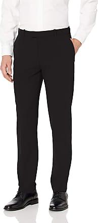 Van Heusen Mens 505M103 Casual Pants, Black, 32W x 32L