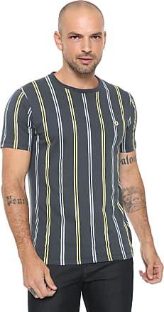 Iodice Camiseta Iódice Listras Azul-marinho