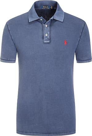 Polo Ralph Lauren Poloshirt im Washed-Look von Polo Ralph Lauren in Marine für Herren