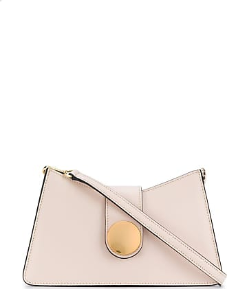Elleme smooth finish baguette bag - Neutro