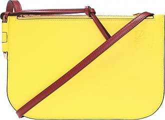 Loewe Gate Shoulder Bag Womens Yellow