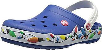 1cfd24f5035b27 Crocs Unisex Crocband Holiday Lights Clog Mule
