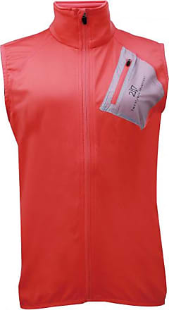 2117 of Sweden Womens Rosvik Eco Powerfleece Vest Gilet in pile Donna   rosso