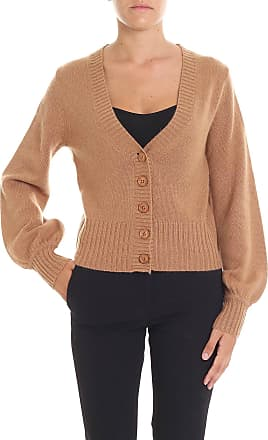 360 Cashmere Brown cashmere Dasha cardigan