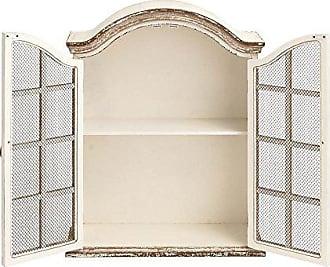 UMA Enterprises Inc. Deco 79 18162 Wood Metal Wall Cabinet, 22 x 28