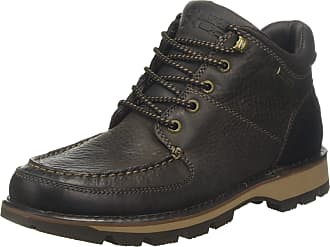 Rockport Mens Umbwe II Chukka Moccasin Boots, Brown (Brown Leather 001), 12.5 (47.5 EU)