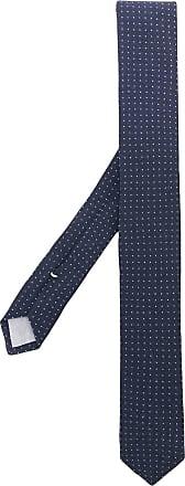Eleventy Gravata com bordado - Azul