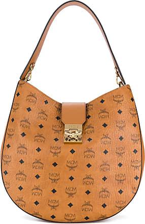 MCM large Patricia Hobo bag - Brown