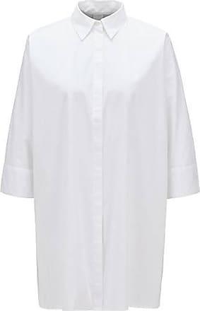 BOSS Oversized Bluse aus Baumwoll-Popeline im Kimono-Stil