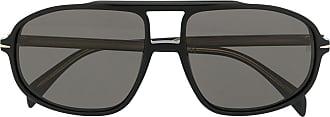 David Beckham Óculos de sol aviador - Preto