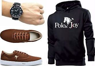 Polo Joy Kit Tênis Masculino Polo Joy C/Moletom e Relógio (36)