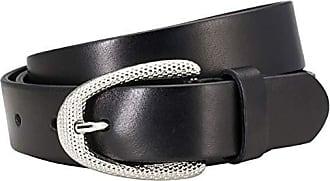 schwarz Gürtel Damen Vollrindledergürtel The Art of Belt Ledergürtel Damen
