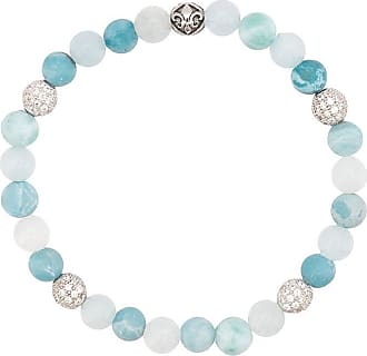 Nialaya faceted stone bracelet - Blue