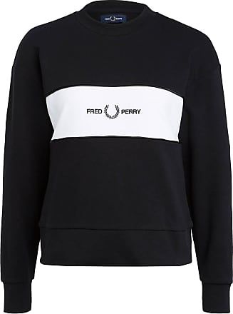 Fred Perry Sweatshirt - SCHWARZ