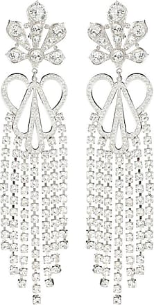 Paco Rabanne Crystal-embellished clip-on earrings