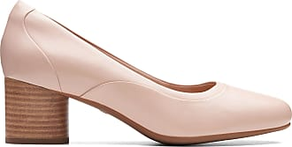 Clarks Womens Blush Leather Clarks Un Cosmo Step Size 7.5