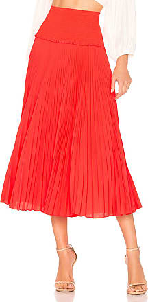 A.L.C. Hedrin Skirt in Orange