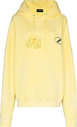 We11done Moletom com logo e capuz - Amarelo