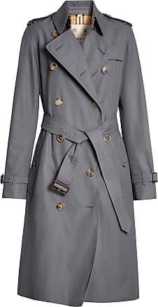 59d850fb1cf0 Burberry The Long Kensington Heritage Trench Coat - Grey