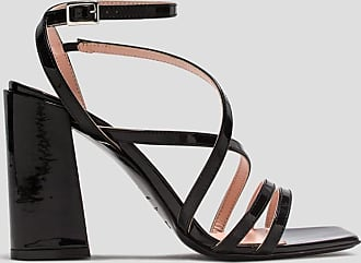 Msgm sandals in patent leather