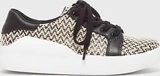 Kelsi Dagger Solo WomenS Flats Black Woven Sneaker 6.5