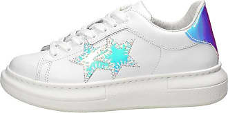 2Star Sneakers Donna Pelle Bianca. 3.5 White